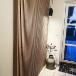 Beautiful hallway with Akupanel - Antique Oak