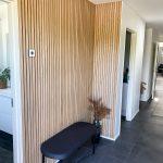 Akupanel - Classic Oak (grey felt) beautiful hallway
