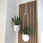 Rustic Natural Oak Akupanel on wall
