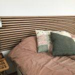 Headboard from Rustic Natural Oak