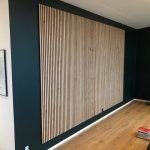 Coloared wall Rustic Natural Oak Akupanel